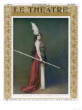 Agnes Borgo as Brunnhilde, Die Walkure at the Paris Opera, Giclee Print