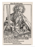 Saint Paul of Tarsus Rabbi Tentmaker Missionary Reading Book Swords in Hand Giclee Print