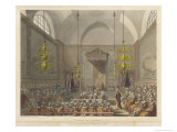 House of Lords 1809 Giclee Print by Rowlandson & Pugin