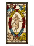 Tarot: 21 Le Monde, The World Giclee Print