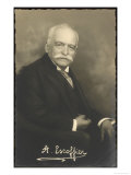Auguste Escoffier French Chef Giclée-Druck