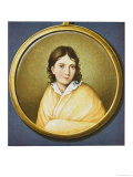 Bettina von Arnim, German Writer, Giclee Print