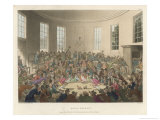Royal Cockpit London Giclee Print by Rowlandson & Pugin
