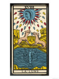Tarot: 18 La Lune, The Moon Giclee Print
