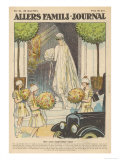 The Bride Enters the Church Giclee Print