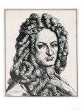 Gottfried Wilhelm Von Leibniz German Philosopher Giclee Print