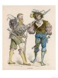 German Foot Soldiers Giclee Print
