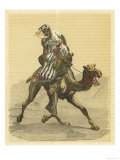 An Arab on His Camel Giclee Print