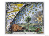 Medieval Missionary Finds a Place Where the Earth Touches Heaven Impression giclée