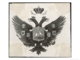 Russian Imperial Double-Headed Eagle Giclee Print by Pannempker