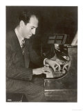 George Gershwin American Composer Reproduction procédé giclée