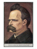 Friedrich Wilhelm Nietzsche German Philosopher and Poet Giclee Print