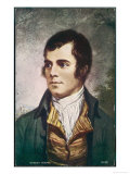 Robert Burns Scottish National Poet Portrait Impression giclée