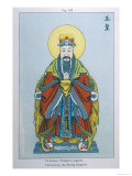 Yu-Hoang, The Jade Emperor, Supreme Deity of the Chinese Pantheon Giclee Print