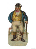 John Bull and His Bulldog Giclee Print