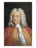 George Frederic Handel Composer Reproduction proc&#233;d&#233; gicl&#233;e