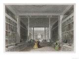 Grand Victorian Bookshop, W and T Fordyce's Publishing Establishment Newcastle Upon Tyne Giclee Print