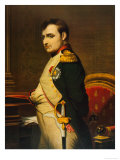 Napoleon as Emperor in His Study Circa 1807 Premium Giclee Print