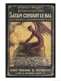 Satan Leads the Dance Giclee Print
