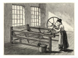 Hargreaves' Spinning Jenny James Hargreaves in 1767 Invented This Jenny, Giclee Print
