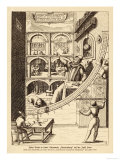 Tycho Brahe at Work in His Observatory at Uranienborg Sweden 1576 Giclee Print