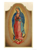 Nuestra Senora de Guadalupe Mexico Miraculously Imprinted Giclee Print