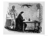 Dr John Dee and His Assistant Edward Kelley (With Giclee Print