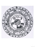 The Circle of the Zodiac Giclee Print