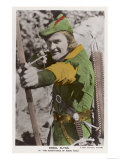"Erroll Flynn in ""The Adventures of Robin Hood"" 1938 Giclee Print"
