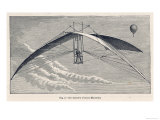 De Groof's Device Launched from a Balloon Giclee Print