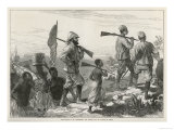 Henry Morton Stanley in Search of Livingstone Giclee Print