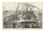 Departure of an Emigrant Ship from Liverpool for America Giclee Print
