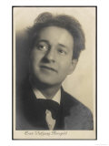 Erich Wolfgang Korngold American Composer and Conductor Born in Austria Giclee Print