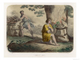 The First Murder: Cain Kills His Brother Abel and is Thereafter Marked for Life Giclee Print