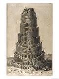 La Tour de Babel Impression giclée