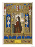 Saint Clare of Assisi Follower of S. Francesco Giclee Print