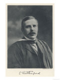 Ernest Rutherford Physicist Giclee Print