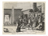 Ptolemy I Soter Inaugurates the Great Library at Alexandria Giclee Print