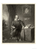 William Shakespeare Playwright and Poet Giclee Print