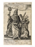 Hermes Trismegistus, Perceived by Neoplatonists as the Presiding Deity of Alchemy Premium Giclee Print