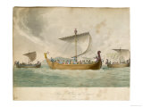 Ships of William the Conqueror Sailing to Battle Giclee Print