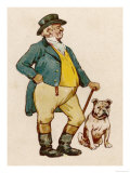 John Bull and His Dog Giclee Print
