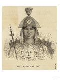 Wayna Qhapaq (Or Huayna Ccapac) (Original Name Tito Cusi Hualpa) Inca Emperor of Peru Lámina giclée