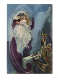 """Tristan and Isolde"" the Lovers' Rapture Giclee-vedos"