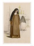 Barefoot Carmelite Nuns Giclee Print