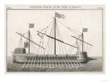 Venetian Galley at the Time of the Battle of Lepanto Giclee Print