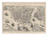 Istanbul in the 16th Century after the Turks Captured It Giclee Print