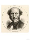 John Stuart Mill Philosopher Giclee Print