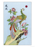 Fong Hoang, The Chinese Phoenix Reproduction procédé giclée