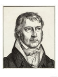 Georg Wilhelm Friedrich Hegel German Philosopher Giclee Print